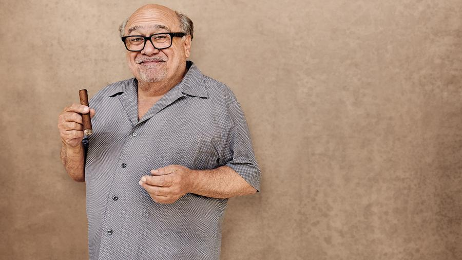 On Newsstands: December's Cigar Aficionado, Featuring Danny DeVito
