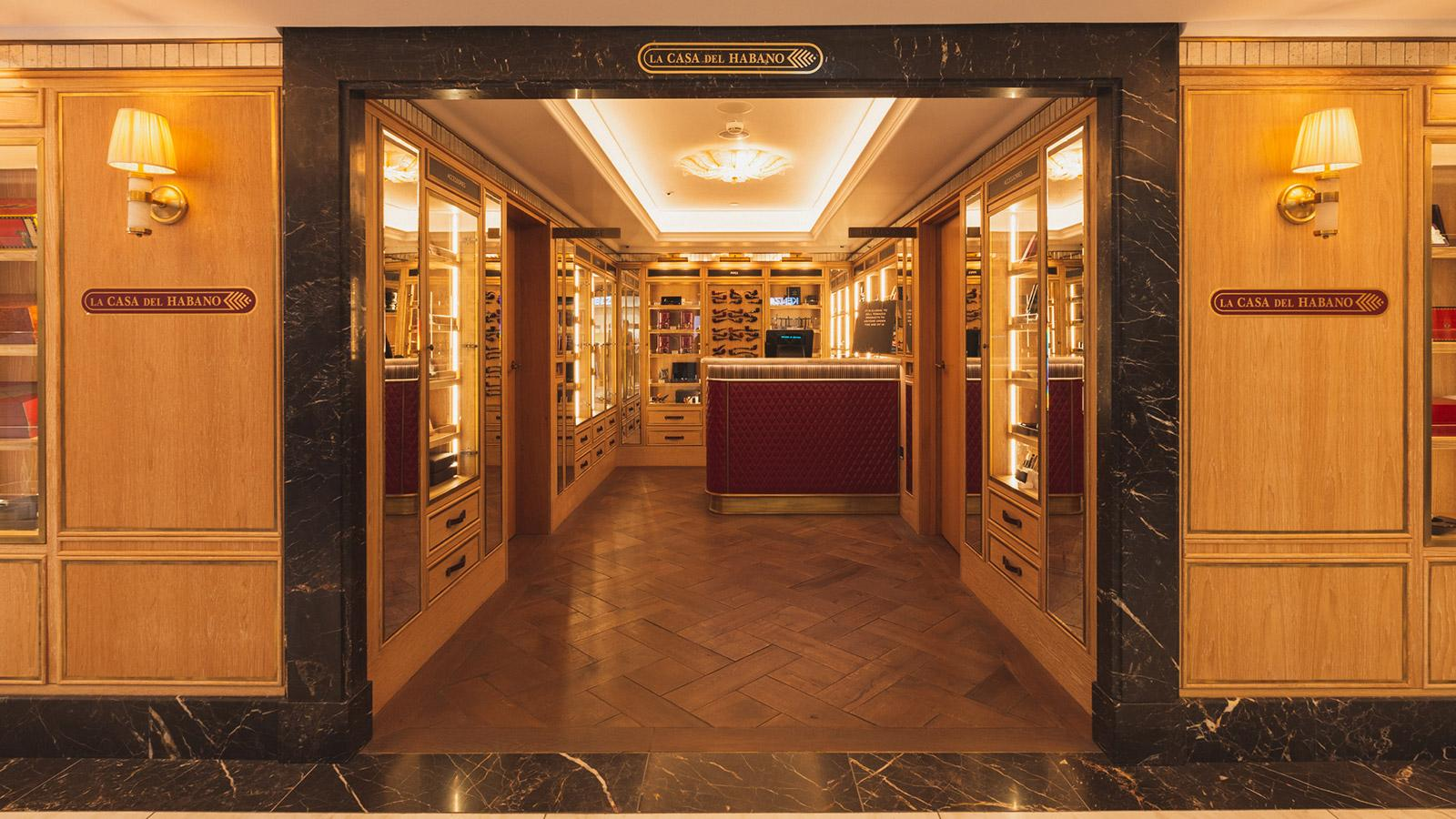 JJ Fox in Harrods Home To U.K.'s Third Casa del Habano