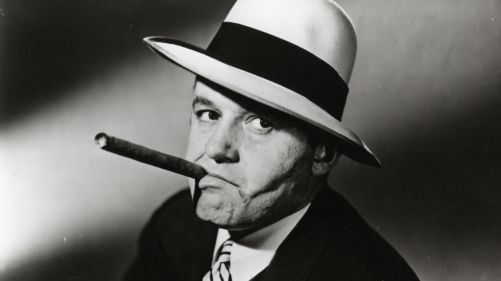 Actor Rod Steiger played notorious gangster Al Capone in a 1959 film.
