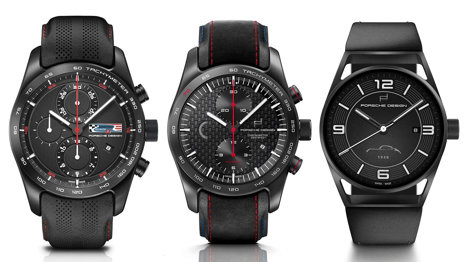 54c7b48e64 Porsche Design Releases Limited-Edition Watches At Rennsport Reunion ...