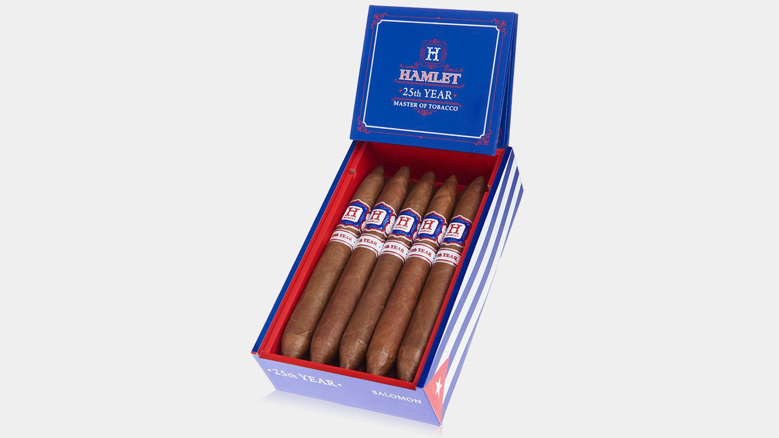 Rocky Patel Ships Hamlet 25th Year Salomon