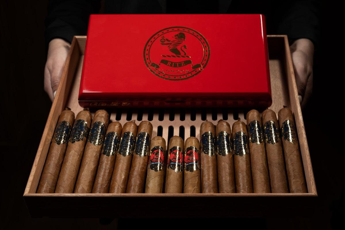 The special collection of Ritz London Cigars.