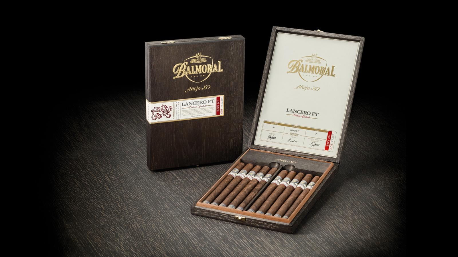 Balmoral Añejo XO Lancero Returns This Month