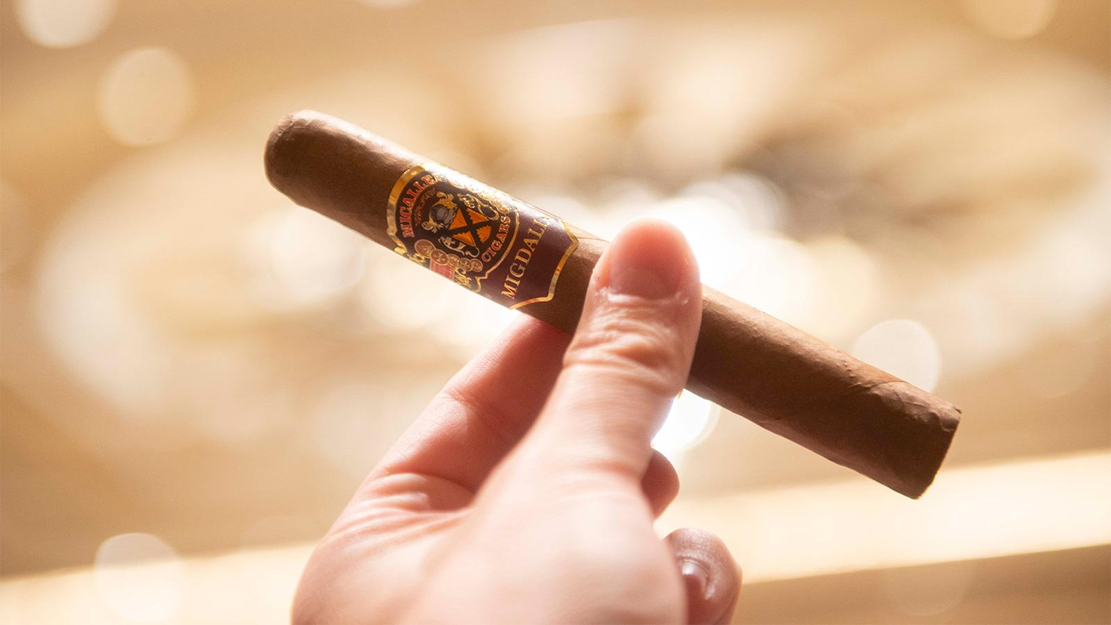 The Micallef Migdalia Toro is a 6 inch by 52 ring gauge size that is not yet on the market.