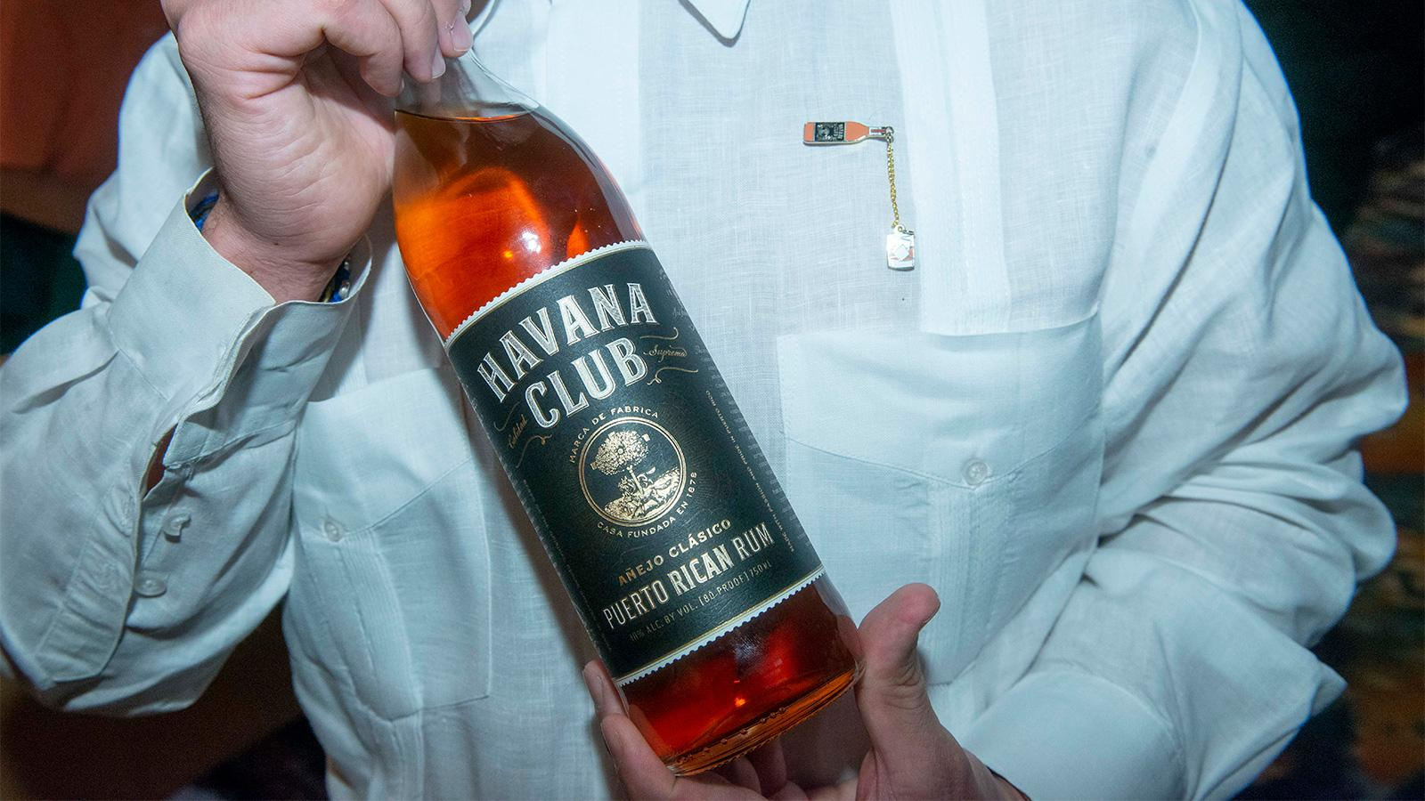 Havana Club Añejo Clasico was among the fine rums tasted during the seminar.