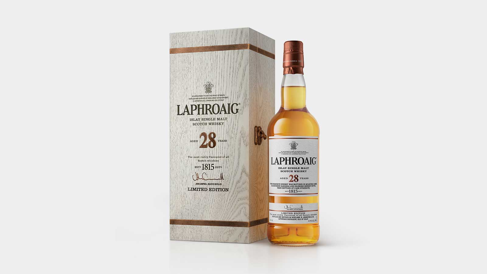 Laphroaig's 28 Year Old Scotch Well Worth The High Price