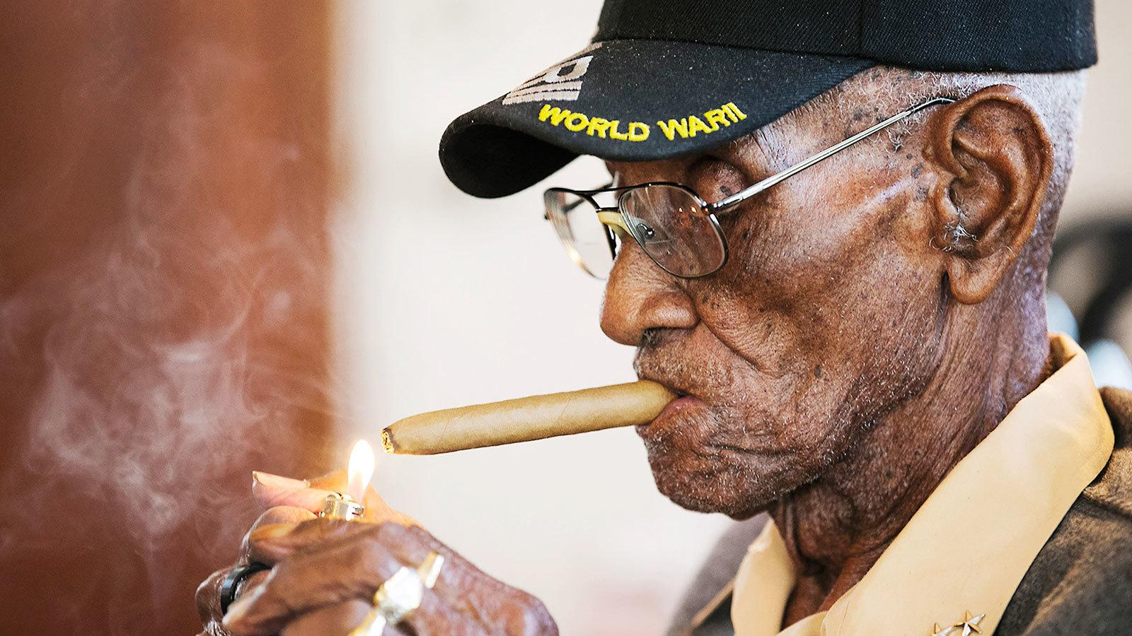 Cigar Lover Richard Overton, America's Oldest Man, Dies At 112