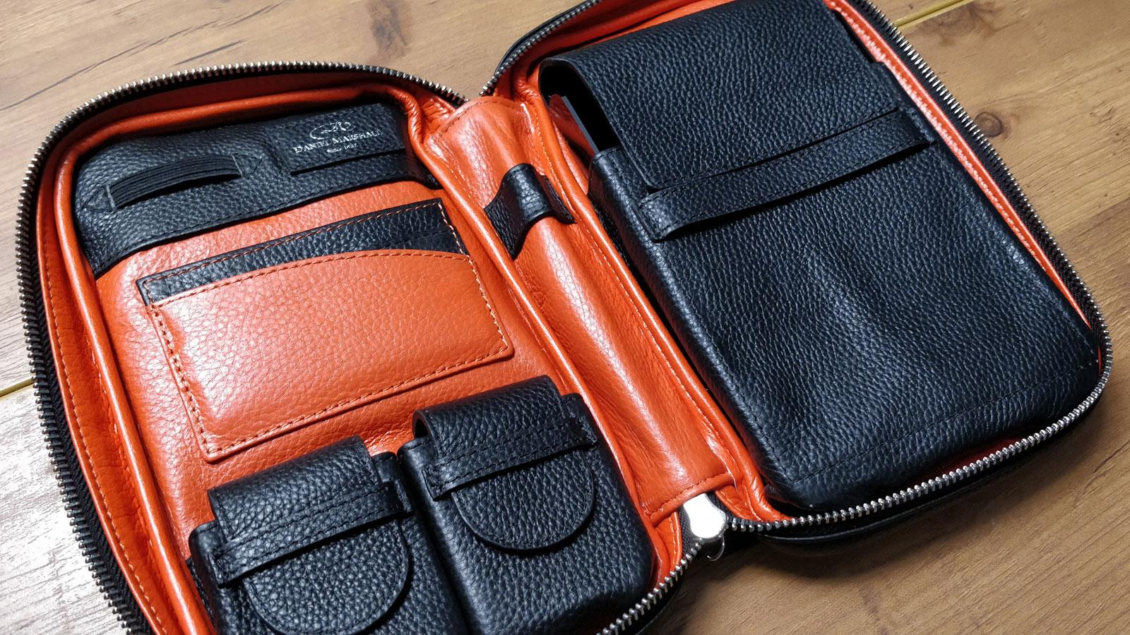 Leather Cigar Travel Case From Daniel Marshall