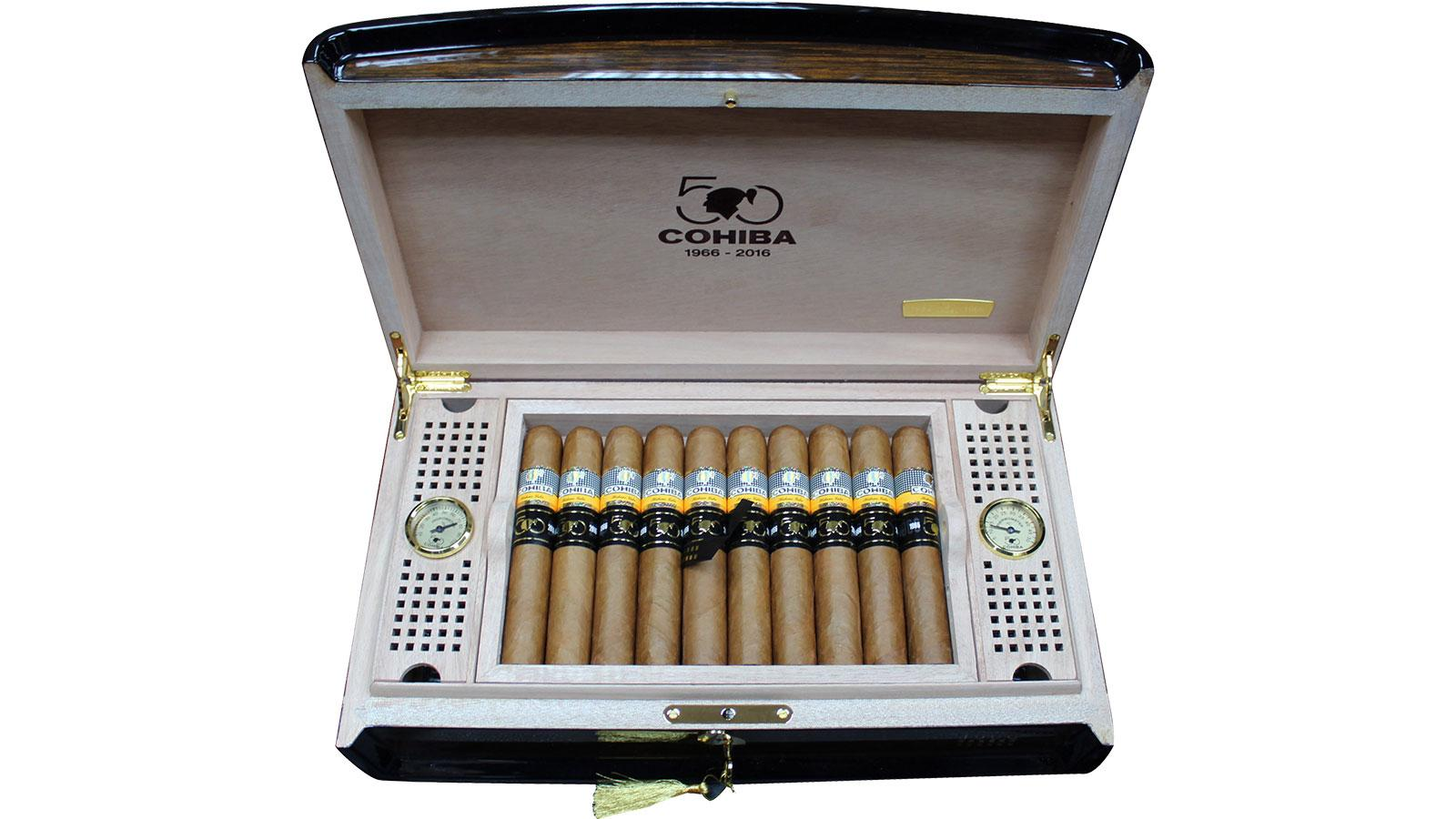 The Cohiba Majestuoso 1966 Humidors are two of 1,966 pieces made to celebrate the 50th anniversary of the brand.