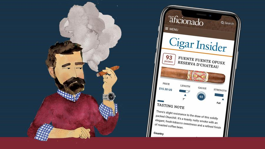 Cigar Insider Is Now Mobile-Friendly