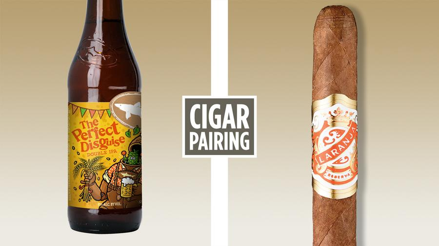 Cigar Pairing: Dogfish Head The Perfect Disguise