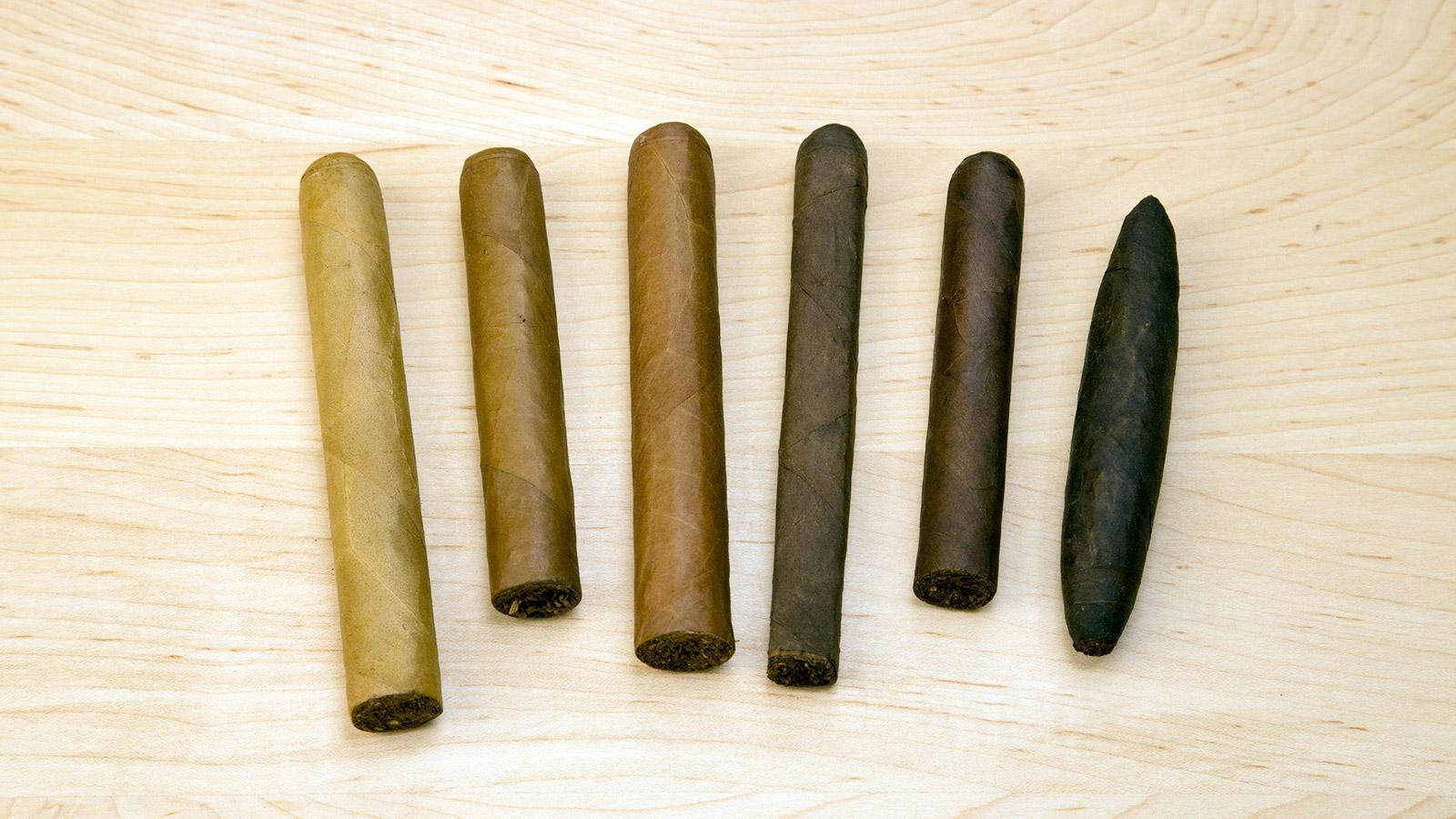 Cigar Shapes, Sizes and Colors