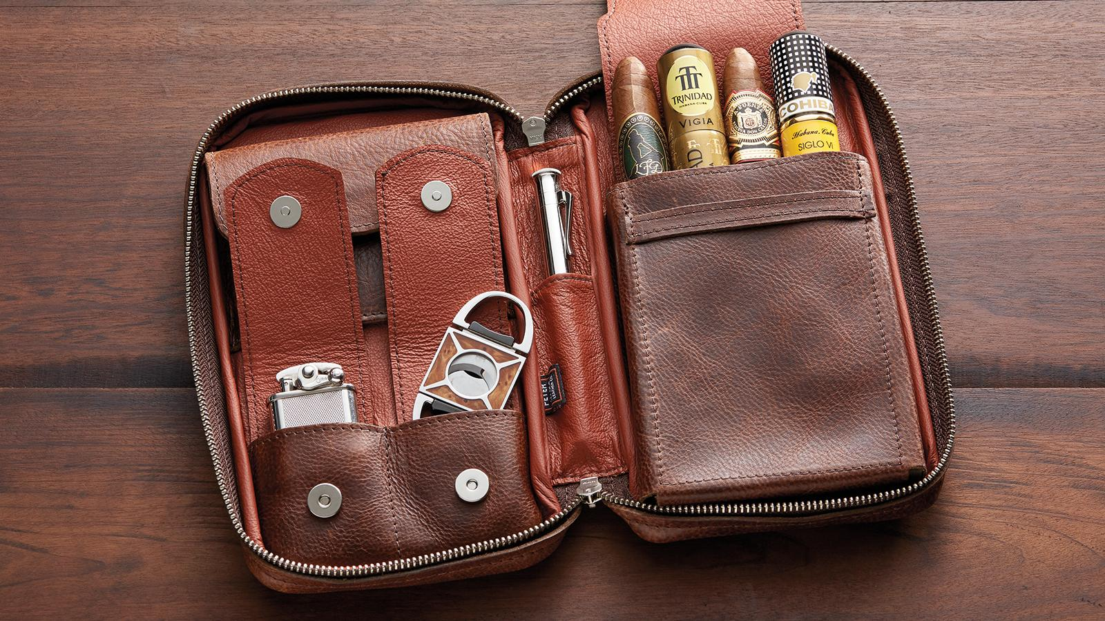 Peter James Leather Cases