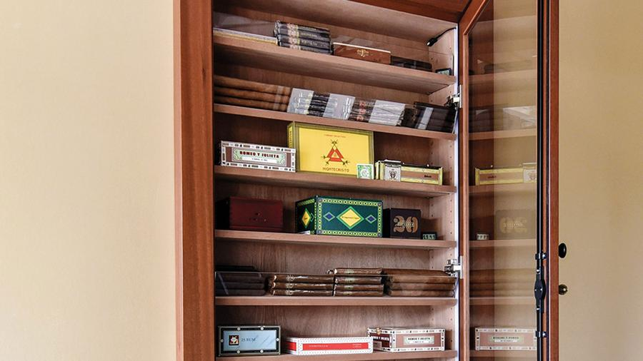 Vigilant Reliance Wall Humidors