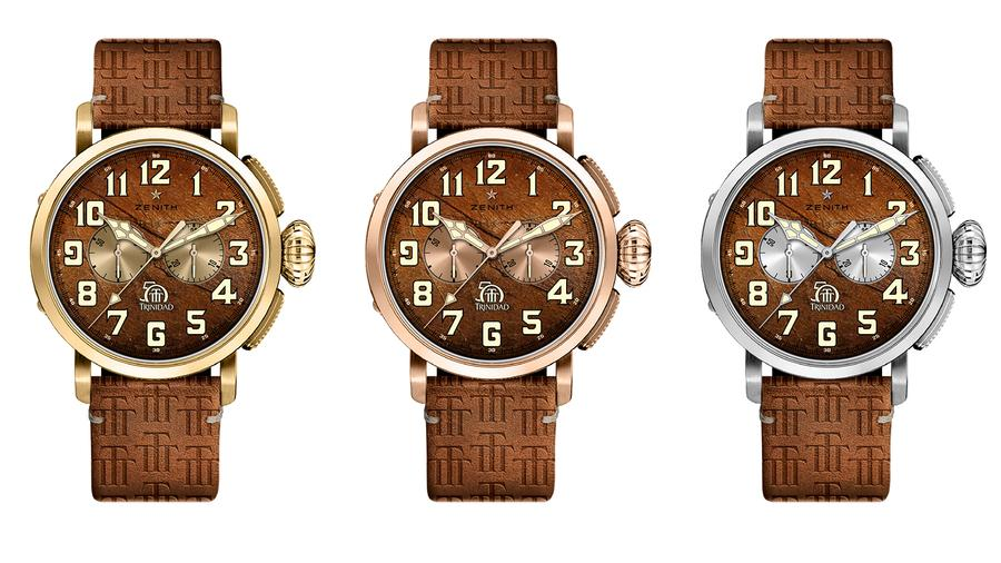 Zenith, Cuban Trinidad Celebrate 50th Anniversaries With Limited Watches