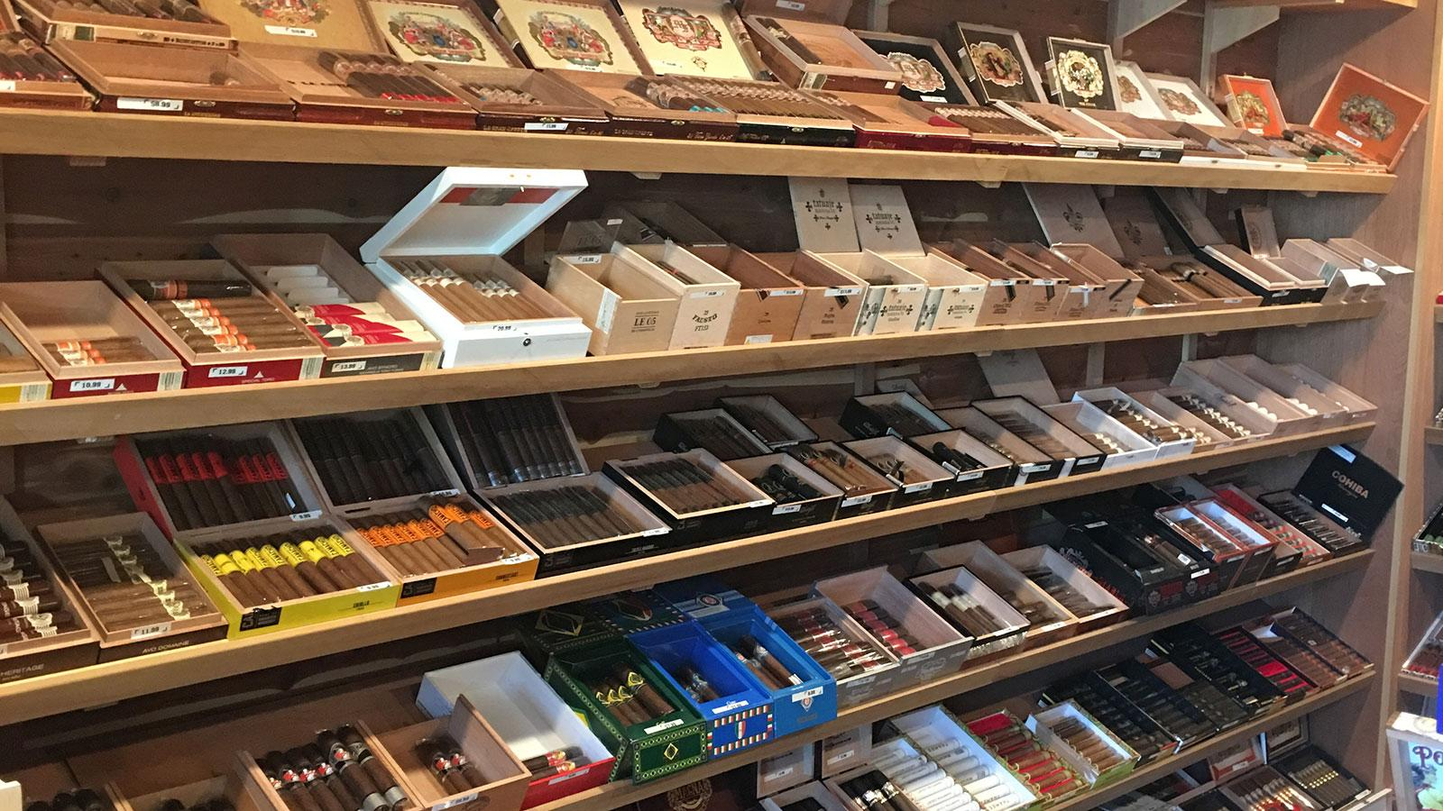 Cigars and More El Segundo humidor