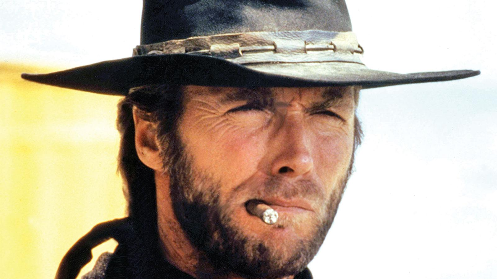 Clint Eastwood in High Plains Drifter.