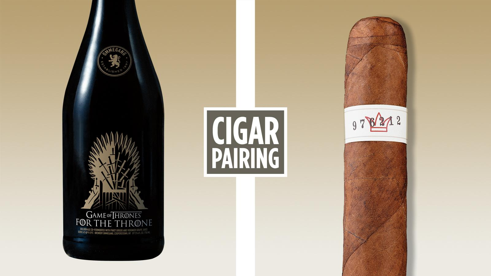 Cigar Pairing: Ommegang's For The Throne Is Also For Your Cigar