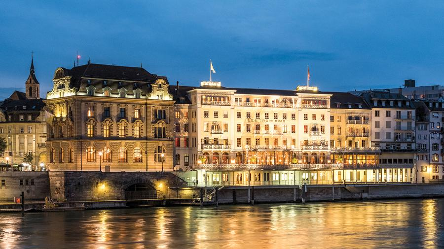 The Grand Hotel Le Trois Rois, Basel, Switzerland