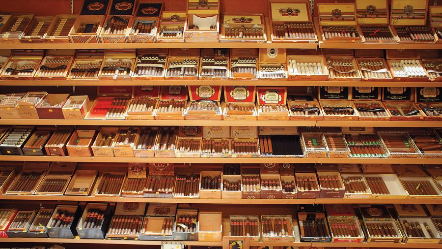 Cigar Imports Slow In April