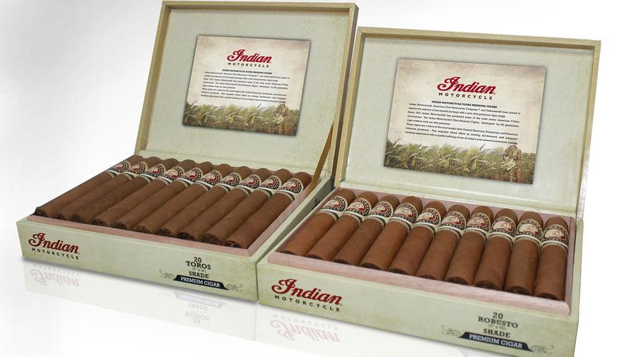 Indian Motorcycle Cigars Get a Lighter Leaf