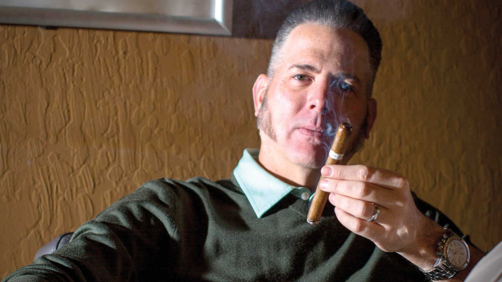 Dion Giolito, owner of Illusione Cigars.