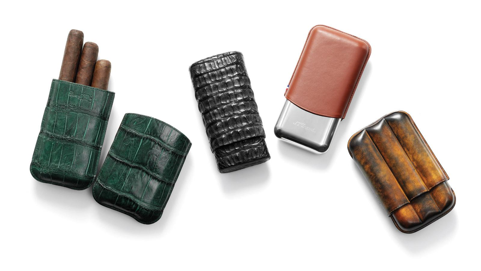 Three-Finger Cigar Cases