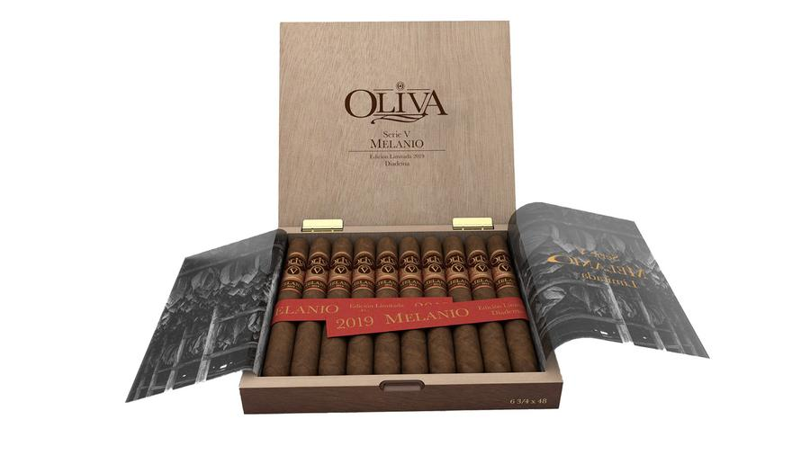 Limited-Edition Oliva Serie V Melanio Debuting in Europe