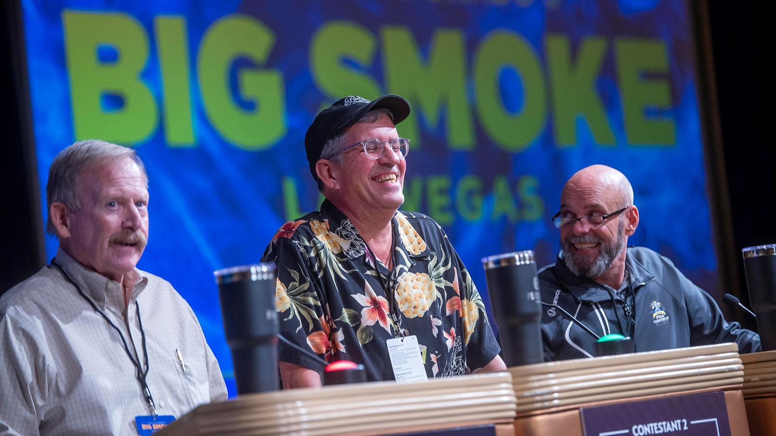 Big Smoke 2019 gameshow contestants