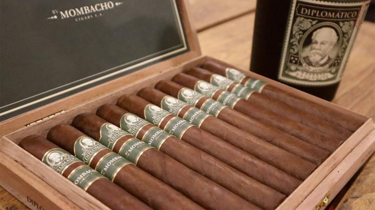 Diplomático Cigar Made For Rum Now Shipping