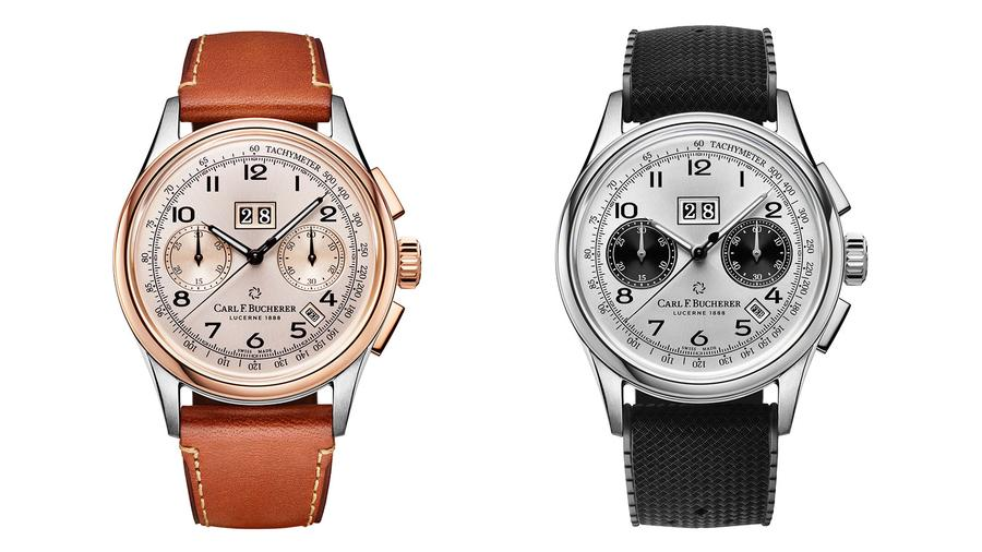 Carl F. Bucherer's Heritage BiCompax Annual Evokes a Sporty-Chic 1950s Chrono
