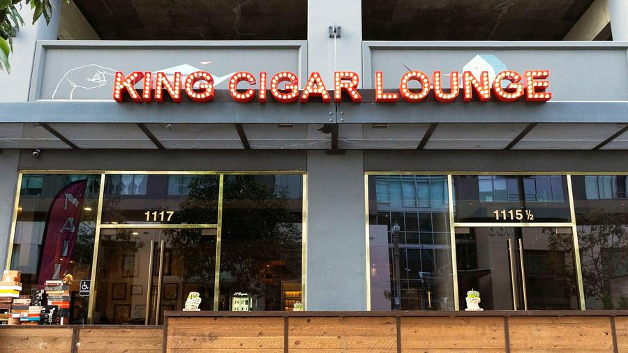 Review: The King Cigar Lounge, Los Angeles, California