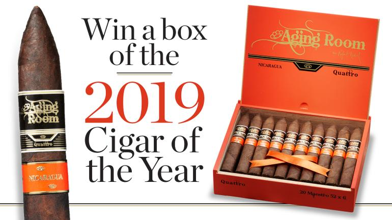 Win a Free Box of the 2019 Cigar of the Year