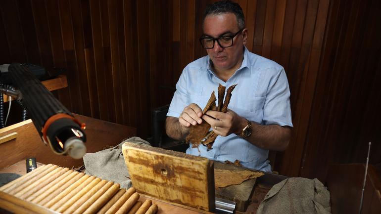 Cuba's House Rolled Cigars