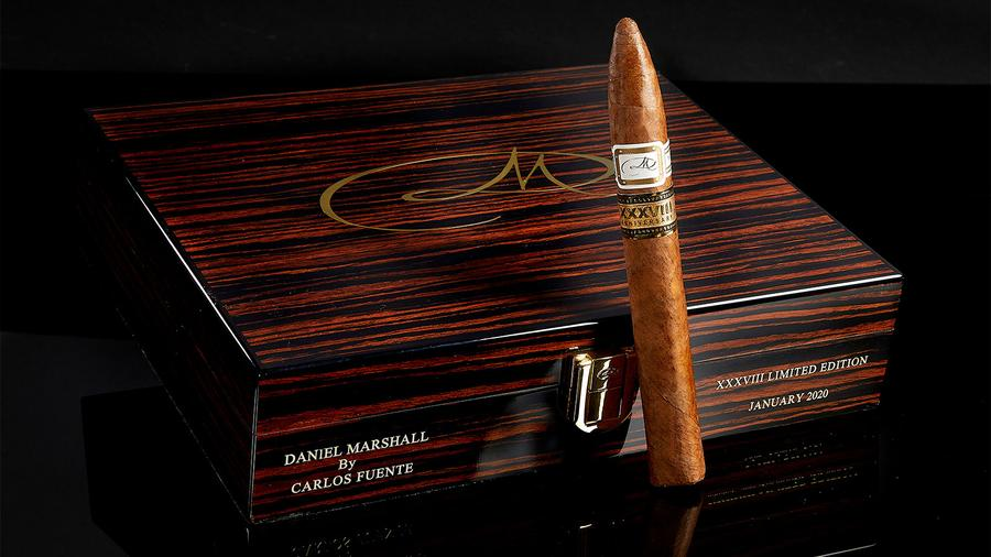Daniel Marshall Anniversary Humidor Filled With Fuentes Coming in May
