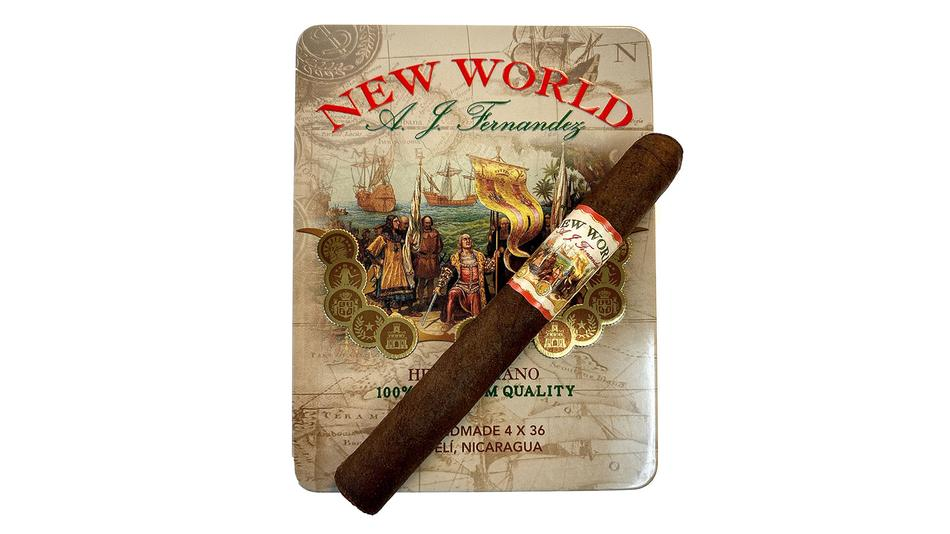 New World Tins From A.J. Fernandez Now Shipping