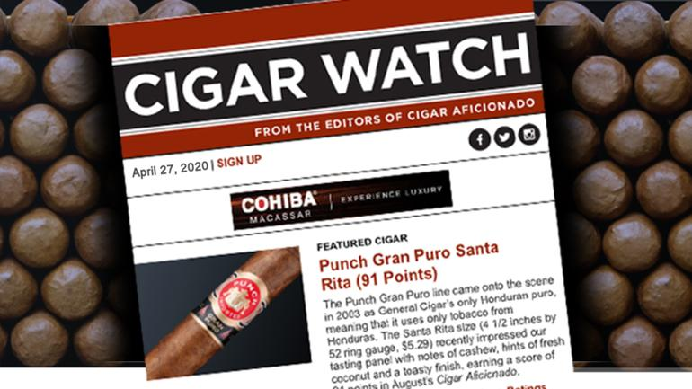 Sign Up For Cigar Watch