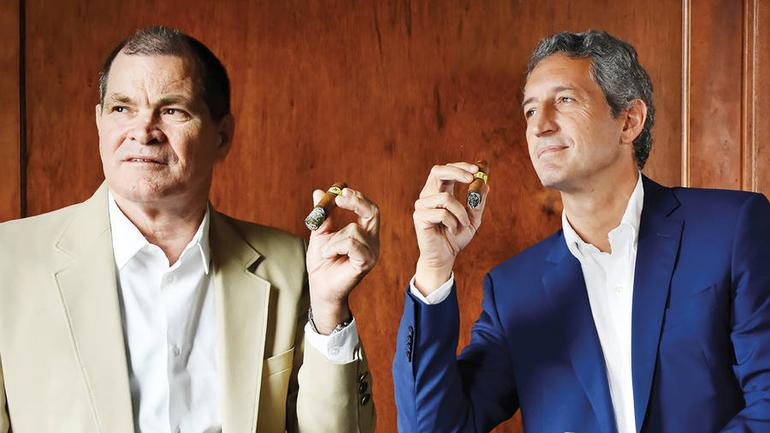 The Co-Presidents of Habanos