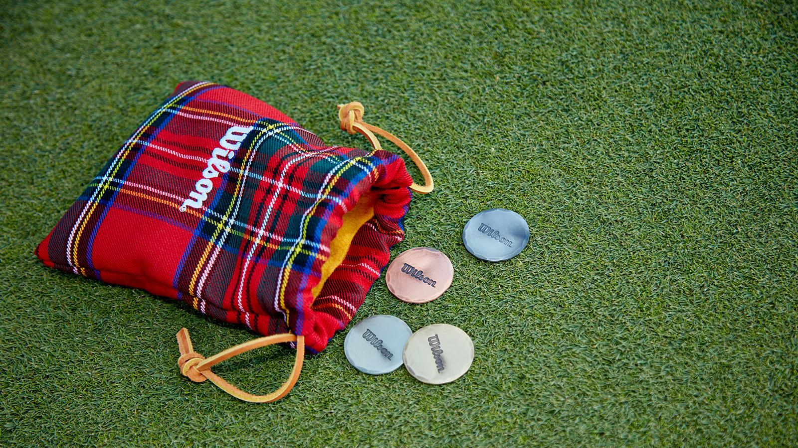 Wilson Seamus Golf Ball Marker