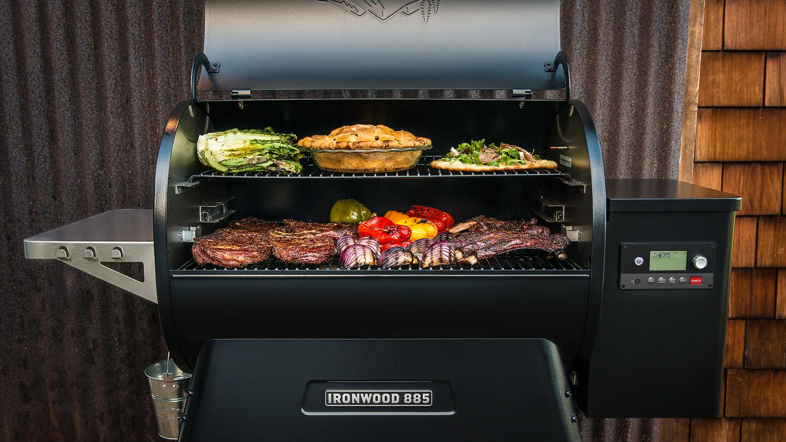 Ironwood Pellet Grill