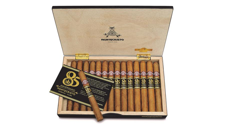 Spain Marks Montecristo's 85th Anniversary With Aged Cigars