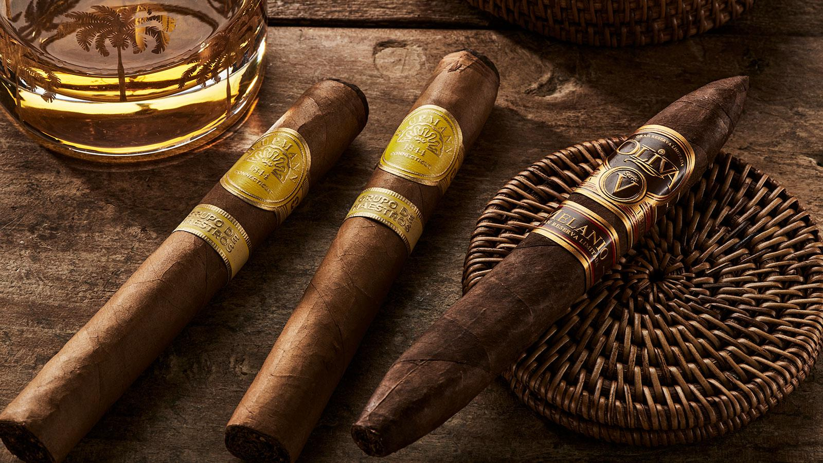 rum and cigars