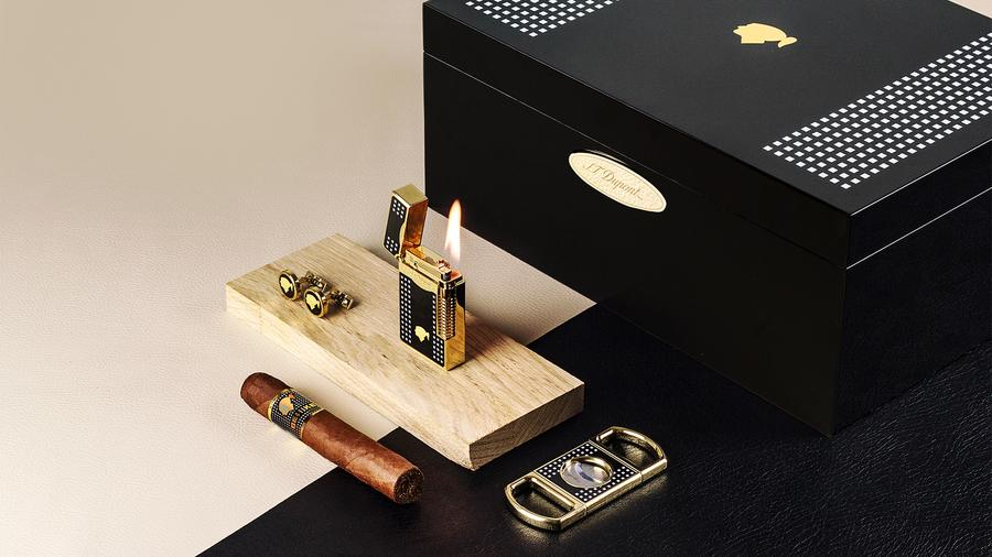 S.T. Dupont Teams Up with Habanos for New Cohiba Accessories