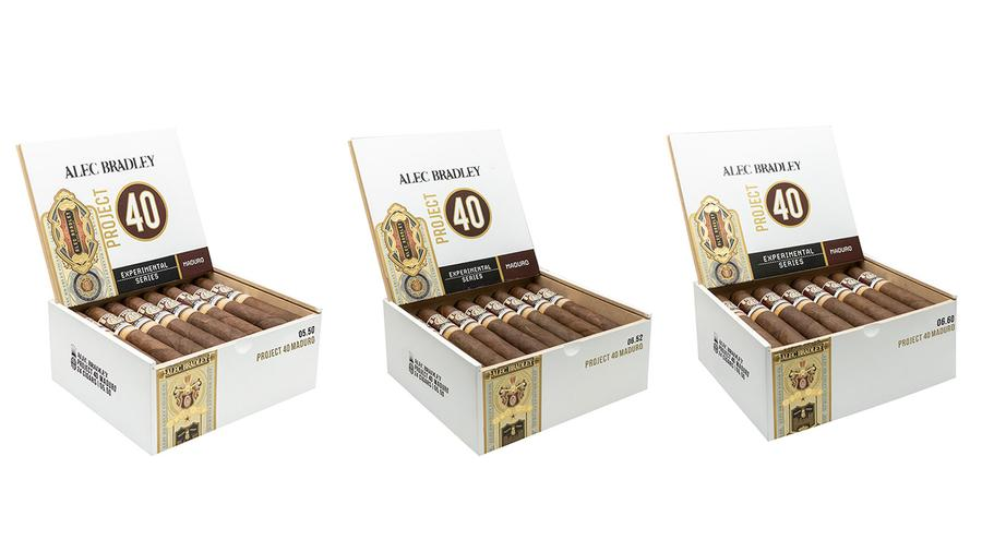 Alec Bradley Project 40 Maduro Shipping Next Month