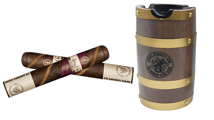 Barber Poles in a Barrel: Limited Edition Diesel Whiskey Row Ships to Shops
