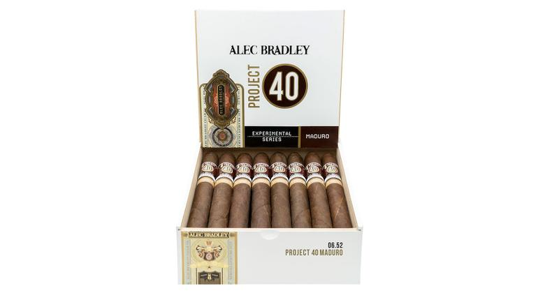 Alec Bradley Project 40 Maduro Shipping This Week