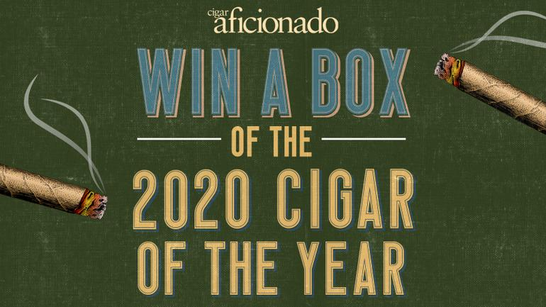 Win a Free Box of the 2020 Cigar of the Year