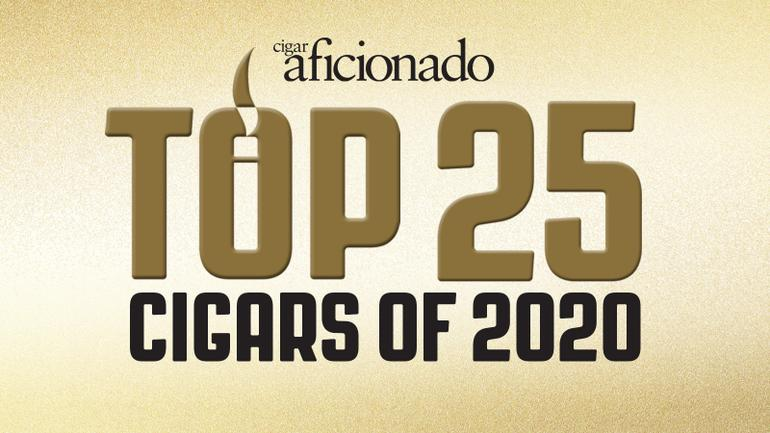 Cigar Aficionado's Top 25 Cigars of 2020