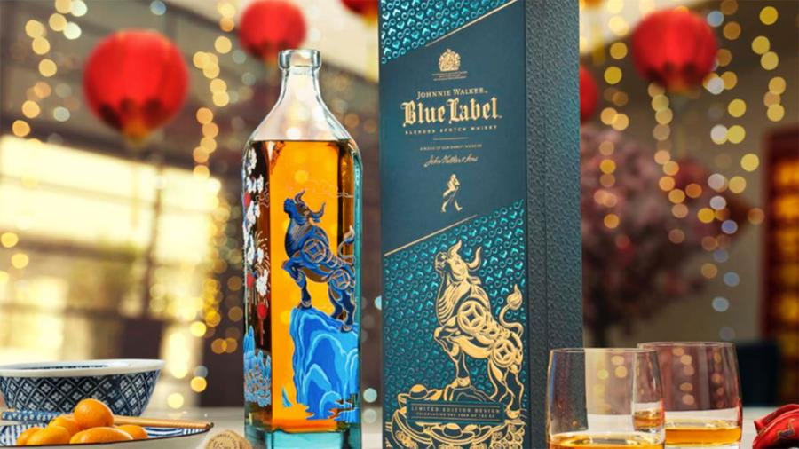 Johnnie Walker Puts Time in a Bottle
