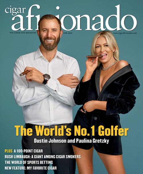 Dustin Johnson and Paulina Gretzky | March/April 2021